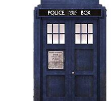 Tardis- Doctor Who by johnsmoustache