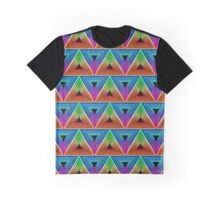 ANGULAR PORTAL NEON RETRO Graphic T-Shirt