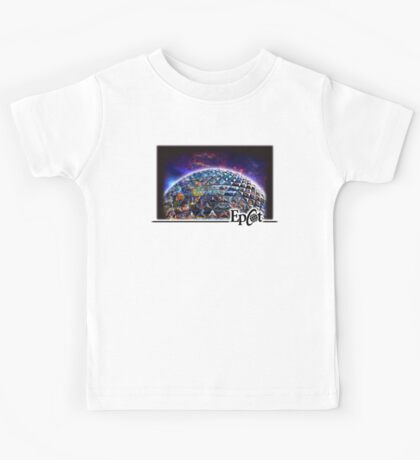 Attractions of Epcot Kids Tee