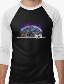 Attractions of Epcot Men's Baseball ¾ T-Shirt