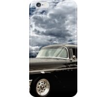 Stormy Chevy at Roy's on Route 66 iPhone Case/Skin