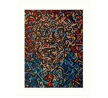 Abstract Criminal No.3 Art Print