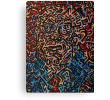Abstract Criminal No.3 Canvas Print
