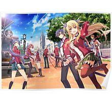 eiyuu densetsu sen no kiseki characters Poster
