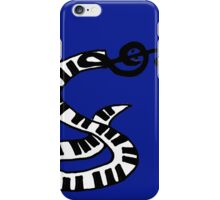 Cool Keyboard Snake with Treble Clef Head iPhone Case/Skin