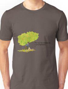 Calvin is a procrastinator Unisex T-Shirt