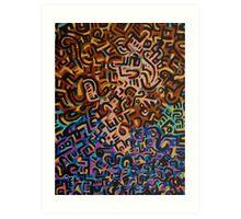 Abstract Criminal No.1 Art Print