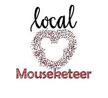 Local Mouseketeer Photographic Print