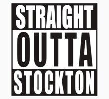 Straight Outta Stockton Kids Tee