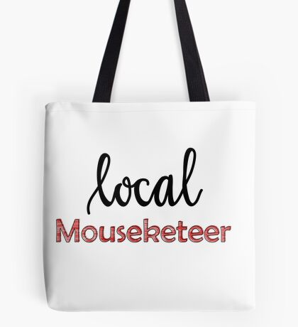 Local Mouseketeer (plain) Tote Bag