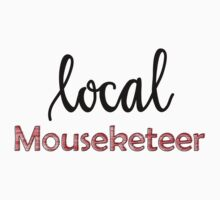 Local Mouseketeer (plain) Baby Tee