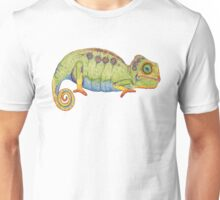Please Just Stop Talking Chameleon Unisex T-Shirt