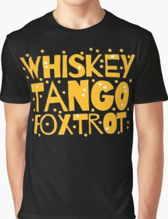 Whiskey Tango FOXTROT (WTF) hipster edition Graphic T-Shirt