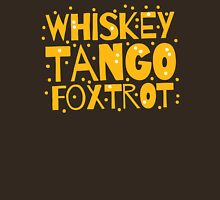 Whiskey Tango FOXTROT (WTF) hipster edition Womens Fitted T-Shirt