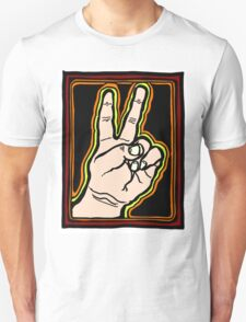 Peace Brother, Sister COLORIZED Unisex T-Shirt
