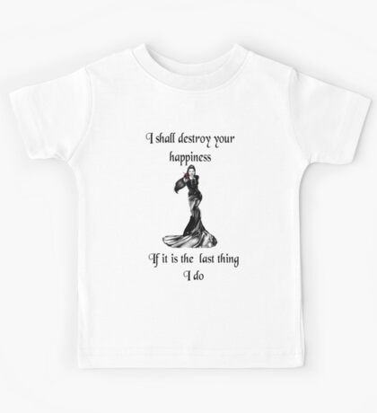 Once upon a time- Evil queen Kids Tee