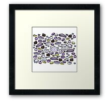 Tea and Lavender Cakes Framed Print
