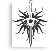 Dragon Age Inquisition Logo Canvas Print