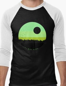 Black shades on the forest Men's Baseball ¾ T-Shirt