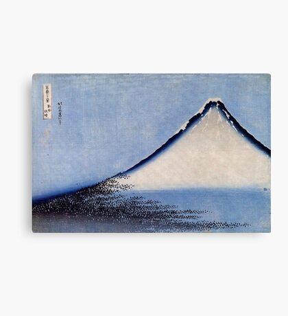 'Mount Fuji 2' by Katsushika Hokusai (Reproduction) Canvas Print