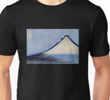 'Mount Fuji 2' by Katsushika Hokusai (Reproduction) Unisex T-Shirt