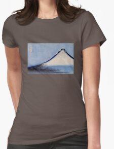 'Mount Fuji 2' by Katsushika Hokusai (Reproduction) Womens Fitted T-Shirt