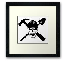 A Pirate By Trade Framed Print