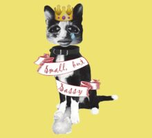'Small but sassy' cat collage One Piece - Short Sleeve
