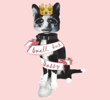 'Small but sassy' cat collage One Piece - Long Sleeve