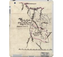 205 Map showing location lot no 10 of Moore Beckley patent Raleigh Co W Va 10 000 a included iPad Case/Skin