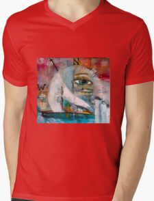 Your True North Mens V-Neck T-Shirt
