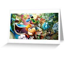 Rayman Greeting Card