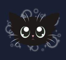 Sparkly Kitty Face Kids Tee