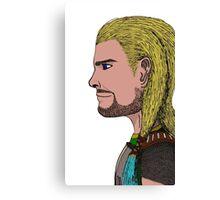 Kris' Profile Canvas Print