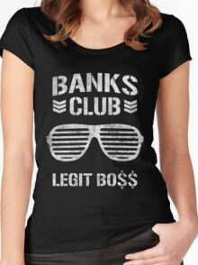 WWE Banks Club  Women's Fitted Scoop T-Shirt