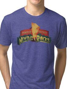 New Day Power Rocks WWE Tri-blend T-Shirt