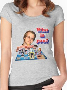 Who is you? Armada SSBM Guess who Women's Fitted Scoop T-Shirt