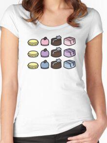 Sweet Dozen Women's Fitted Scoop T-Shirt