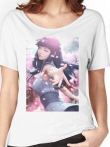 Hinata Hyuga Women's Relaxed Fit T-Shirt