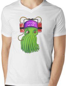CthulWho? Mens V-Neck T-Shirt