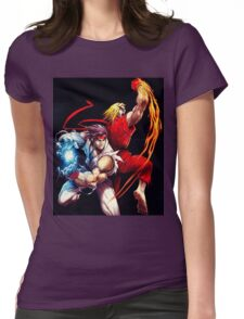 Ken and Ryu  Womens Fitted T-Shirt