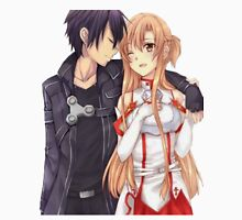 Kirito and Asuna  Unisex T-Shirt