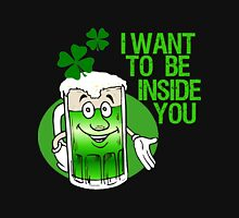 Green Beer Innuendo St Patrick's Day Unisex T-Shirt