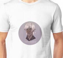 "Fenris ""I enjoy following you"" - Dragon Age Unisex T-Shirt"