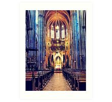 Vienna church Art Print