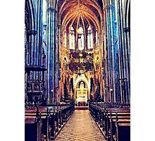 Vienna church Photographic Print