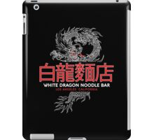 White Dragon - Noodle Bar Cantonese Variant iPad Case/Skin