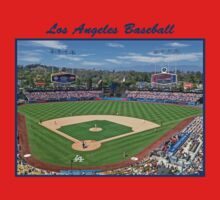 Los Angeles Baseball One Piece - Short Sleeve