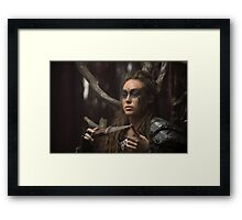 Lexa - The 100 - Season 2 Framed Print