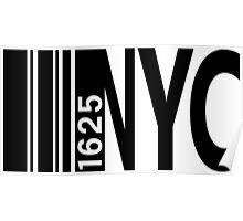 New York City - The Birth 1625 Poster